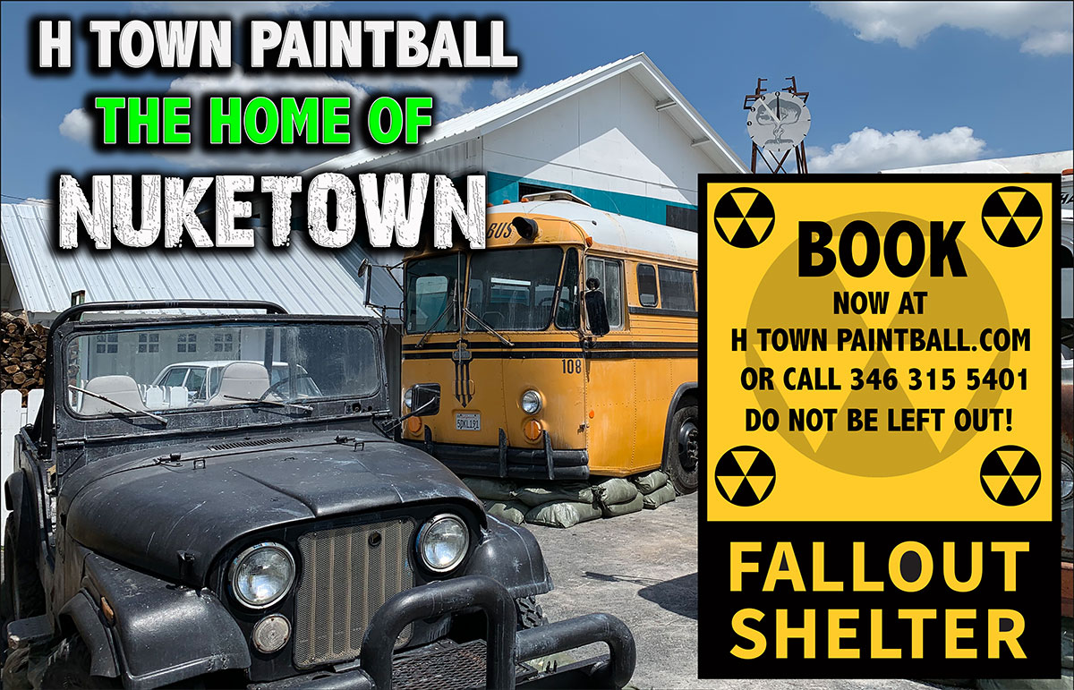 Nuked H-Town Paintball